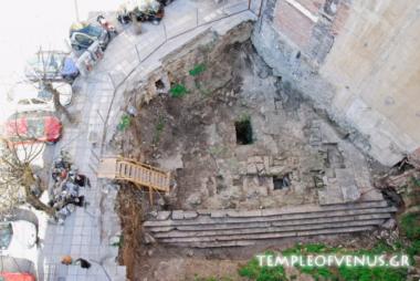 Διάσωση και ανάδειξη του Ναού της Αφροδίτης στη Θεσσαλονίκη