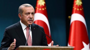 Provocative statements by the Turkish President during his visit to Greece
