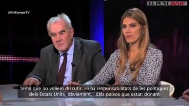 Eva Kaili on 'Via Europa' - 'El Punt Avui' TV 02.03.2016