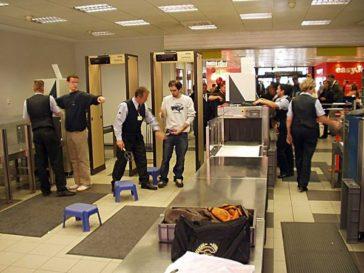 Checks at airports