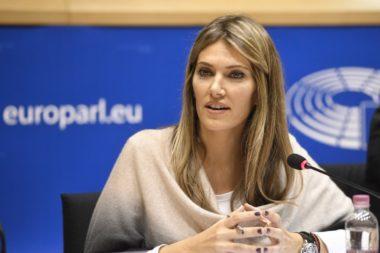 Η Εύα Καϊλή στέλνει την NSO για έλεγχο στην ΕΕ.