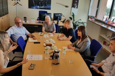 European Parliament Member Eva Kaili visits Cedefop