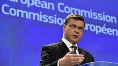 Απάντηση του Αντιπροέδρου Ντομπρόβσκις για το σκάνδαλο της Wirecard